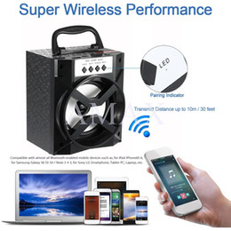 Wholesale Waterproof Speaker Micro - MS-134BT Outdoor speaker Mini Portable Wireless Bluetooth Speaker Support FM Radio TF Micro SD Card USB charge Music Player
