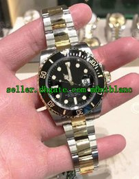Wholesale Stainless Steel Automatic Watch Sapphire - Top quality Hot Luxury Sapphire Black Ceramic Bezel Dial 116613 Stainless Steel Automatic Mens Men's Watch Watches#12