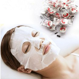 Wholesale Masque Eye - Wholesale- Good Quality 90-100pcs New Skin Face Care DIY Facial Paper Compress Masque Mask For Women Good Skin Hot Free Shipping