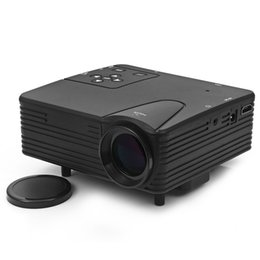 Wholesale Hdmi Design - Wholesale- TOPS LZ - H80 80 Lumens 480 x 320 Pixels Mini LED Frosted Projector Support HDMI AV VGA SD Card Input Dust Free Design Projector