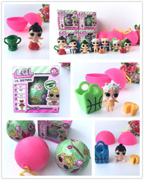 Wholesale Dress Ups Kids - 2017 LOL SURPRISE DOLL Series 2 Dress Up Toys baby Tear change egg can spray Realistic Baby Dolls lil sisters Toys To Collect
