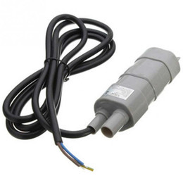 Wholesale Dc Submersible Pump Motors - High Quality Hot Salable 12V DC 1.2A 5M 600L H 6-12V For solar Aquarium Three wire Micro Submersible Motor Water Pump