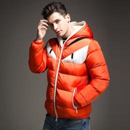Wholesale Thick Fleece Jackets Men - New monster funny hooded Jacket Thick winter fleece Warm cotton coat men Parkas Outwear windtight Parka winter jacket men