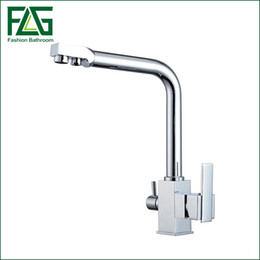 Wholesale Fitting Water Filter Tap - Kitchen Tap Faucets Selling None Torneiras Para Pia Cozinha Drinking Water Faucet for Filtered 3 Way Mixer Torneira Com Filtro