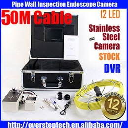 Wholesale Sewer Camera Dvr - Drain Sewer Wall Cave Pipe Inspection DVR Camera Pipe Endoscope Borescope 20m-50m Cable,Pipeline Sewage Snake Camera
