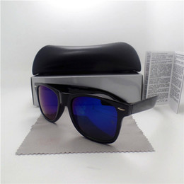 Wholesale Case Coat - High quality Brand Designer Fashion Women Men Coating Sunglasses UV400 Sport Vintage Sun glasses Retro Eyewear With box and case