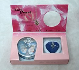 Wholesale Wholesale Canned - Love Wish Pearl Cage Pendant Necklace With Pearl Oyster Including Pearl Canned Fashion Locket Clavicle Chain Necklace Gift Box Package