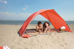 Wholesale car tent canopy - Portable Beach Tent Sun Shade Canopy Fishing Shelter Tents Awning Sunshade Summer Beach Tent UV Protection