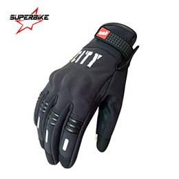 Wholesale Summers Motorcycle Gloves - Wholesale- Motorcycle Gloves Screen Touch Cycling Bike Men Summer Guantes de la motocicleta Glove Full Finger Luvas Motocross Racing Sports