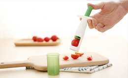 Wholesale cutter baby - Good Grips Grape Tomato and Cherry Slicer cutter Kitchen Vegetable Fruit Cutter Tools Auxiliary Baby Food