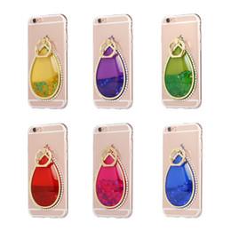 Wholesale Iphone Little Mermaid - 3D Bling Quicksand Liquid Case for iphone 6 6plus 7 7plus Feather Dreamcatcher Fox little mermaid Soft TPU Cover