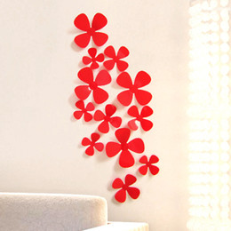 Wholesale Colors Television - 9 Colors 12pcs set 3d Butterfly Wall Stickers Artificial Butterflies Decoration Pvc Removable Wall Stickers In Stock