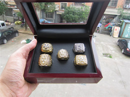 Wholesale Dallas Cowboys Championship Rings - 1971 1977 1992 1993 1995 Replica Dallas Cowboys Superbowl Championship Ring 5Years Sets With Wooden Box DHL Free Shipping