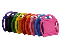 Wholesale Mini Steering Wheel - Steering Wheel Kids Safe Soft EVA Foam ShockProof Handle Protective Case Stand For iPad 2 3 Air PRO 9.7 2017 ipad Mini 2 3 4 Galaxy tab 7 1