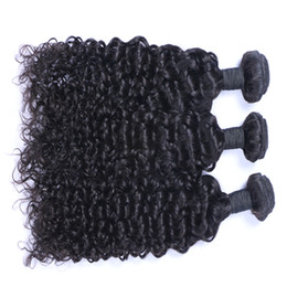 Wholesale pure jerry - Best Quality Brazilian Hair Unprocessed Malaysian Brazilian Indian Peruvian Jerry Curly Hair Extension 3 or 4 Pieces Human Virgin Hair Weave