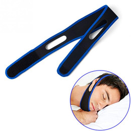 Wholesale Chin Straps - Anti Snore Chin Strap Care Sleep Stop Snoring Belt Chin Jaw Supporter Apnea Belt For Men Women Sleeping Products