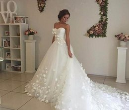 Wholesale China Western - Custom Size A Line Tulle Sweetheart China Country Western Bridal Bride Dresses Wedding Gowns Vintage Wedding Dresses