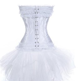 Wholesale Cheap Costume Corsets - Cheap dress suede, Buy Quality costume beard directly from China costume national dress Suppliers: Hello Tem sexy lace up bustier corset wom
