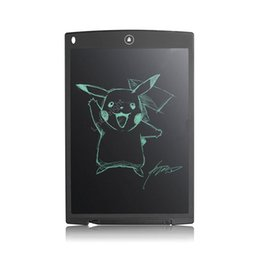 Wholesale Mini Drawing Board - Wholesale- 12'' Mini LCD Writing Tablet Writing Board Paperless eWriter Office Family School Drawing Graffiti Toy Gift Free Shipping