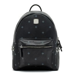 Wholesale Students Backpacks - 2017 Top brand new arrival Fashion punk rivet backpack school bag unisex backpack student bag travel STARK BACKPACK