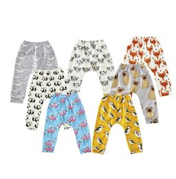 Wholesale Wholesale Childrens Tights Leggings - 2017 Newest Leggings Boys Girls Baby Childrens Pants Cartoon Animals Print Trousers Toddler Kids Apparel Boutique Infant Clothes Wholesale