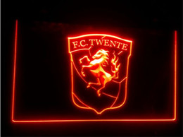 Wholesale neon football signs - FBHL-09 FC Twente Enschede Eredivisie Football LED Neon Sign home decor crafts