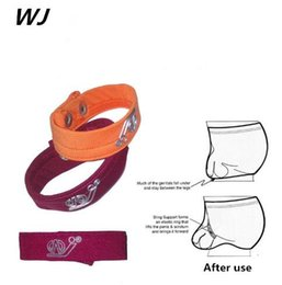 Wholesale Orange String Bracelet - 5pcs lot) WJ Underwear Men G-Strings & Thongs Mens Rings Shrink-ring Sexy Underwear Ring Thong Or Bracelet Jockstrap