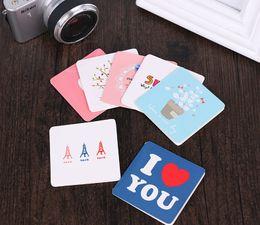14 * 7 cm Mini Cartão Cartão de Aniversário Criativo Cartão de Obrigado Cartão de Bênção 1 pacote de