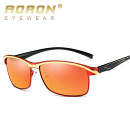 Wholesale Sunglasses Spot - 2017 new design Aoron brand men and women polarized sunglasses dazzle colour spot wholesale fashion sunglasses quality goods A379