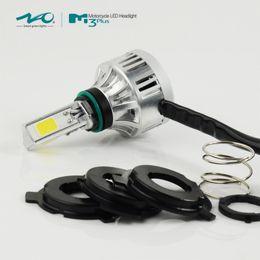 Wholesale Raptor Led - 32W H4 H6 PH7 PH8 Motorcycle HeadLight Bike LED COB Motor Hi Lo Bulb Lamp White