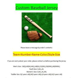 Wholesale Cheap Custom Baseballs - cheap Custom American Baseball Jerseys All 30 Teams Customized Stitched Any Name Number S-4XL Mix Match Order youth men womens kids Jerseys