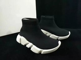 Wholesale Kids Rubber Socks - Superstar Kids Women Fashion Stretch Fabric High Top Breathable Slip On Socks Shoes Ankle Running shoes Flat Zapatos