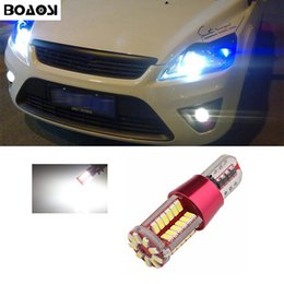 Wholesale Led Light Ford Kuga - BOAOSI Car Canbus LED T10 W5W Clearance Parking Light Wedge Lights For Ford focus fiesta mondeo transit fusion kuga ranger