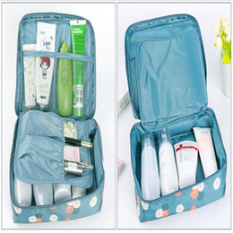 Wholesale Travel Wash Organizer Bag - 14 Types Portable Travel Organizer Storage Bag Cosmetic Makeup Bag Toiletry Wash Case Hanging Pouch Toiletry Makeup Kit Storage Waterproof