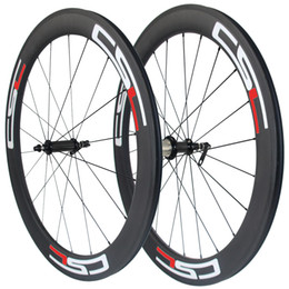 Wholesale Straight Pull Carbon - Straight pull R36 carbon hub 60mm Clincher  Tubular  Tubeless carbon road bicycle wheelset 23mm,25mm rim width