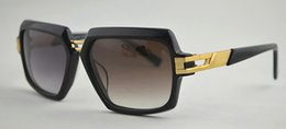 Wholesale Over Sized Sunglasses - Hot Selling Sunglasses Men Brand Designer Vintage Square Frame Over Size Sun Glasses For Men Eyewear With Logo And Case 6004