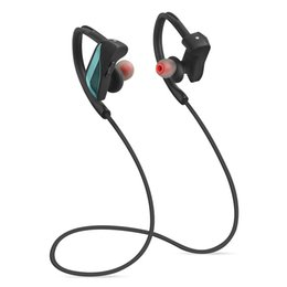 Wholesale Earhook Mic - Bluetooth HeadPhones Earhook In-Ear Noise Cancelling Wireless Stereo Sports Earbuds Headset IPX7 Waterproof with Mic for Iphone 7 samsung S7