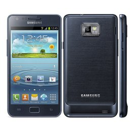 Wholesale Cell Galaxy S - Original Refurbished Samsung Galaxy S2 S II Plus I9105 Cell Phone 4.3inch Dual Core 8GB ROM NFC GPS
