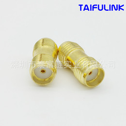 Wholesale Antenna Female Connector - Taifulink SMA - KK Two-way Female Head Turned Her Head Rf Coaxial Connector SMAKK Adapter F914