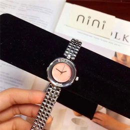 Wholesale Japan Watches For Women - Hot sale woman Watches Rolling diamonds Pink Color 2017 Elegant nurse gifts for girls Relogio Masculine Foreign trade sales Japan Movement