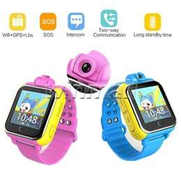 Wholesale Gps Sos - Q730 Kids GPS Tracker SOS Smart Monitoring Positioning Phone Kids GPS Watch With camera Compatible with IOS & Android