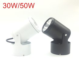 Wholesale Spot Mount - 10W 20W COB Led downlights Surface Mounted Ceiling Spot light 180 degree Rotation Ceiling Downlight White AC85-265V