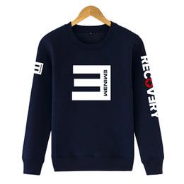 Wholesale eminem sweatshirts - Eminem RECOVERY Hoodie Fashion Sweatshirt for man and boy Cotton Hoodies