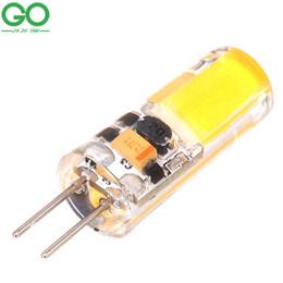 Mini lampe G4 LED 3W COB LED G4 lumière 12V DC / AC LED lampes de lustre d'ampoule Éclairage de décoration Dimmable remplacer les lumières halogènes ? partir de fabricateur
