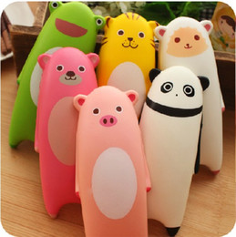Wholesale Toy Cats For Kids - squishies wholesale 10pcs kawaii rare mixed anime panda cat squishy lot squeeze toy with tags for kids gift soft handpillow free shipping
