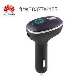 Wholesale Wifi Hotspot Router Unlocked - Unlocked Huawei CarFi E8377 Hilink LTE Hotspot 4G LTE Cat5 12V Car Wifi Router 150mbps wireless router