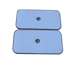 Snap pad on-line-cuidados de saúde branco não tecido snap eletrodo pad para ombro e pescoço estimulação dor e alívio de fadiga