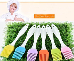 Wholesale Food Grill - NEW Silicone Butter Brush BBQ Oil Cook Pastry Grill Food Bread Basting Brush Bakeware Kitchen Dining Tool Free Shipping