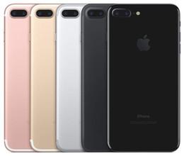 Wholesale Video Camera Mobile - Red iphone 7 plus Cellphone100% Original Apple iPhone 7  7 plus ios10 Quad Core 2GB RAM 32GB 128GB 256GB ROM 12.0MP 4K Video 4G Mobile phone