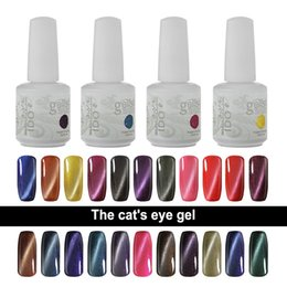 Wholesale Nails Polish Magnetic - IDO Gelish 15ml Soak Off UV LED Gel Nail Polish Magnetic Gel 24 Colors Cat Eye Gel